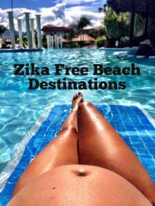 Zika Free Destination, Zika free beach destination, pregnancy safe beach destination