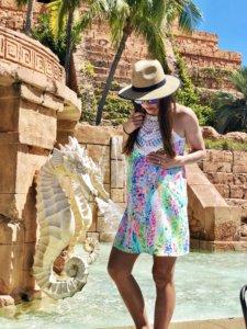 Babymoon, zika free, destinations, beach, sun, maternity, Atlantis