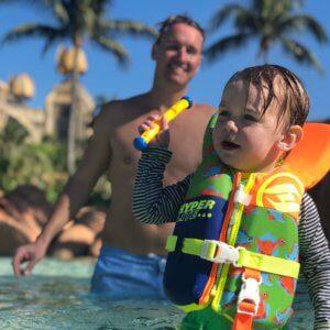 Atlantis, Aquaventure, Bahamas, Paradise Island, Shark Tank, family friendly, beach vacation, destination, bucket list,