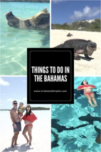 Things to do in the Bahamas, swimming pigs, swimming with the pigs, bucket list adventure, babymoon, zika free destination, family beach vacation